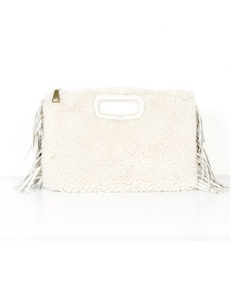 Maje clutch bag