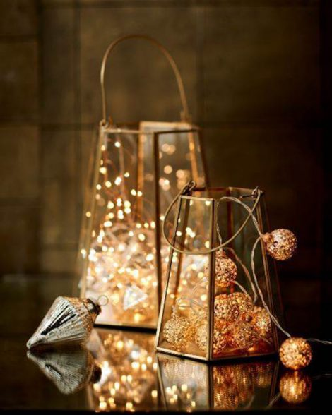 Marks & Spencer Decorations And Lantern
