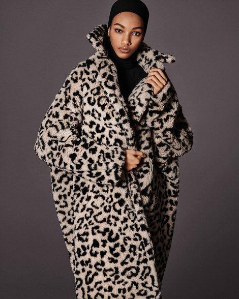 Max Mara TEDDY leopard print coat