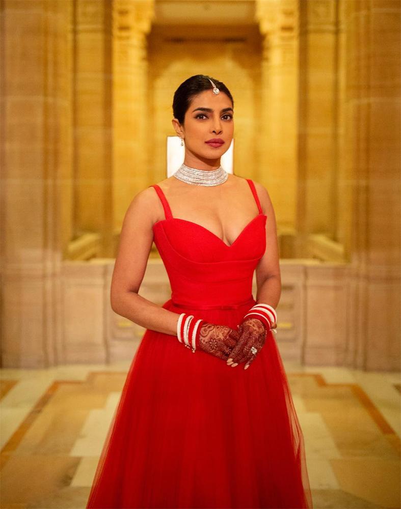Priyanka Chopra dior wedding