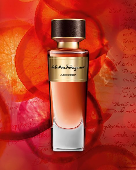 Salvatore Ferragamo Parfums Tuscan Creations, La Commedia