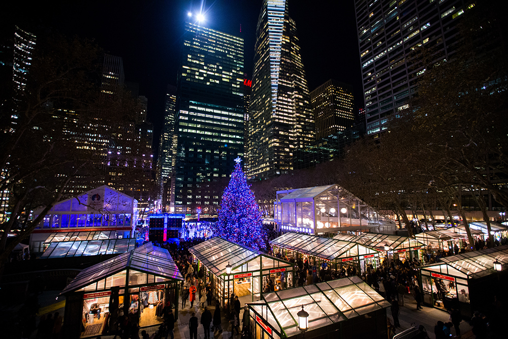 christmas market new york