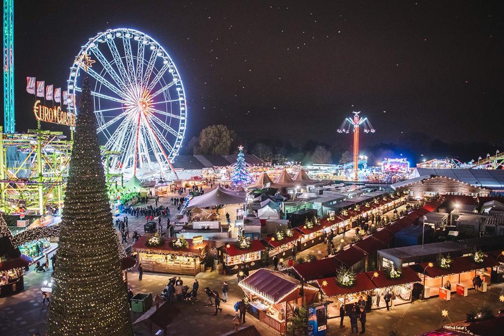 christmas market london hyde park