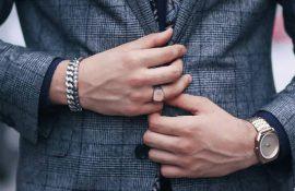 men bracelet jewellery trend