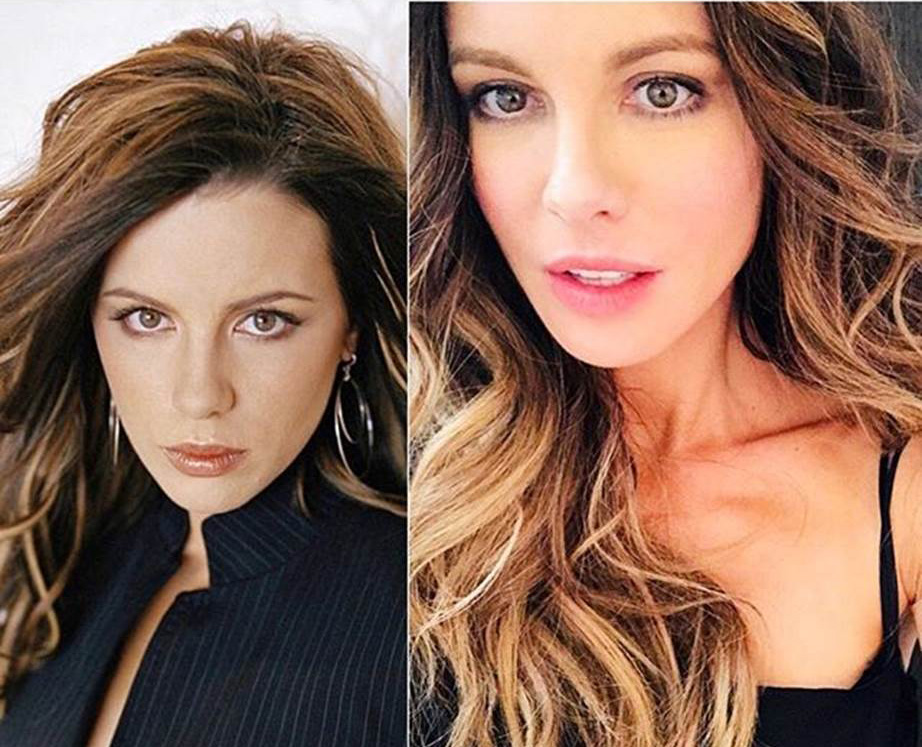 Kate Beckinsale 10 year challenge