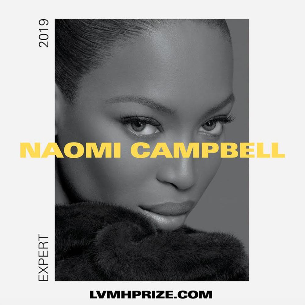 LVMH prize 2019 naomi campbell