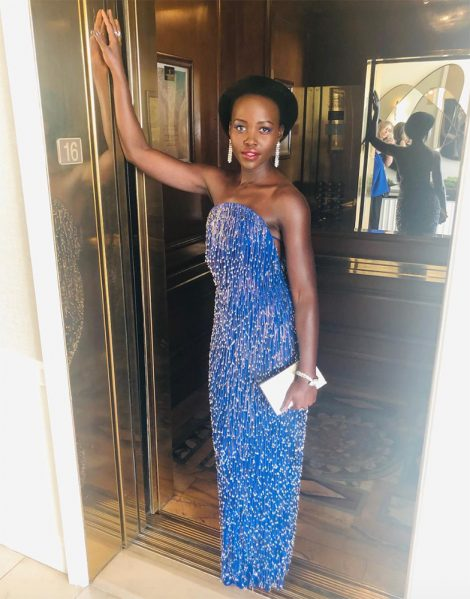Lupita Nyong'o Wore Calvin Klein By Appointment