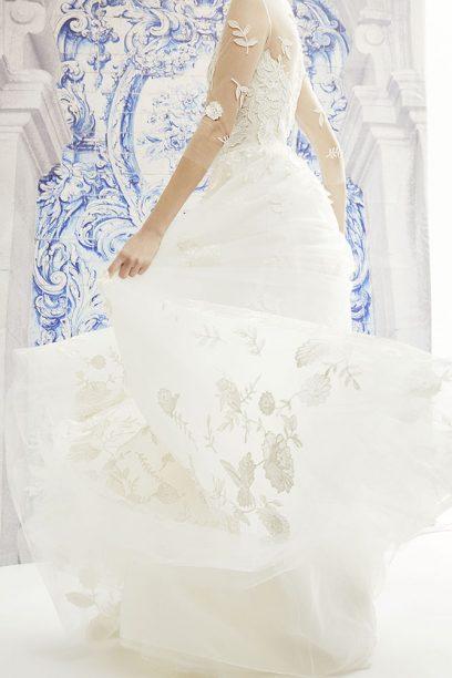 Moda Operandi x Carolina Herrera Bridal Lookbook Imagery 2