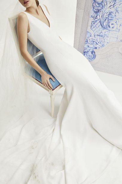 Moda Operandi x Carolina Herrera Bridal Lookbook Imagery 3