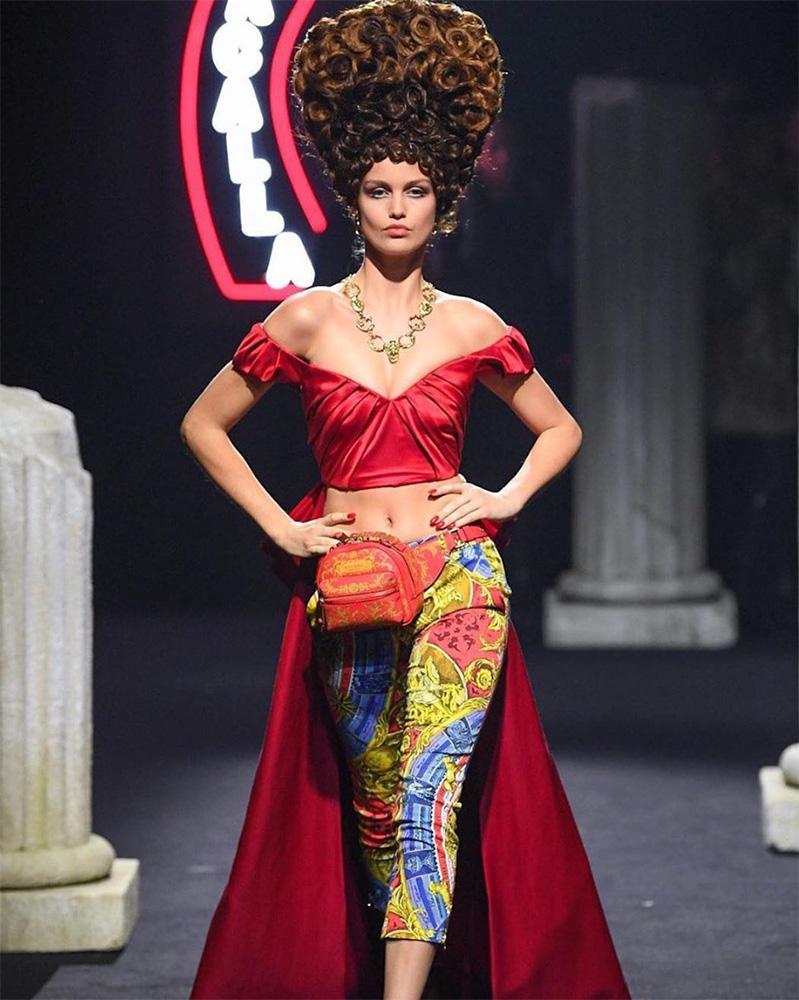 Moschino rome show 2019