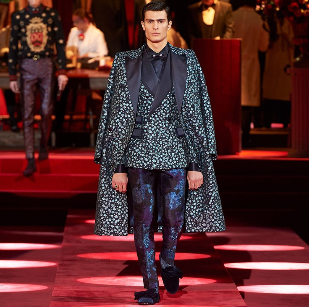 fdc80ac170 Men's Fashion Week Fall 2019: Dolce & Gabbana - A&E Magazine