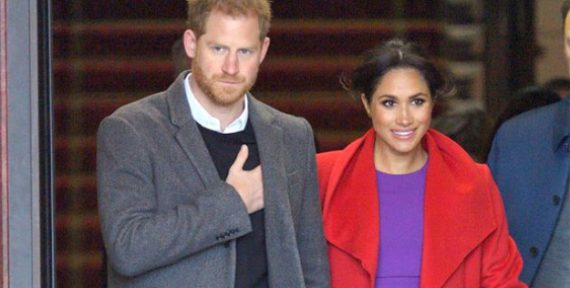 meghan markle style purple red colour combination