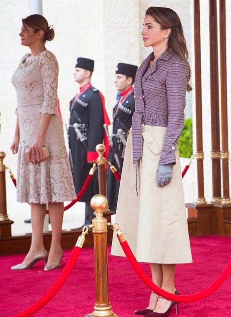 gabriela hearst royals queen rania