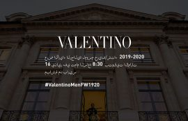 VALENTINO MEN FALL 2019