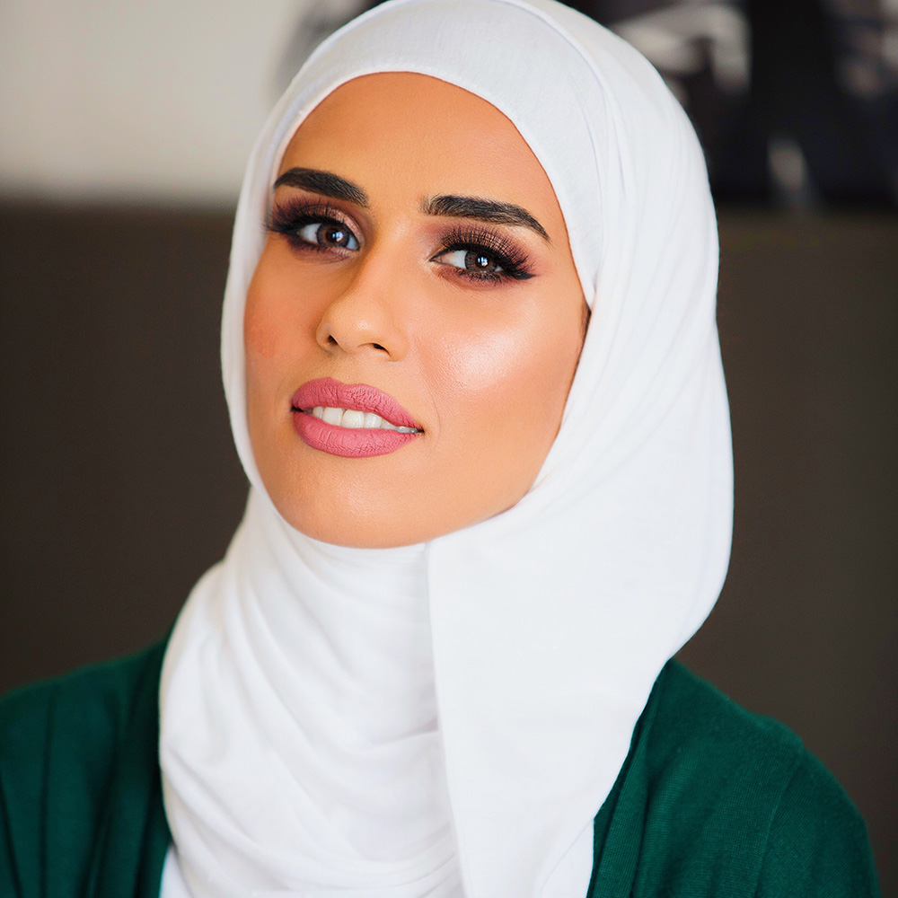 Asma Lootah emirati makeup artist