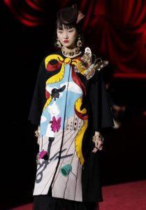 Dolce Gabbana Milan Fashion Week surrealist motif