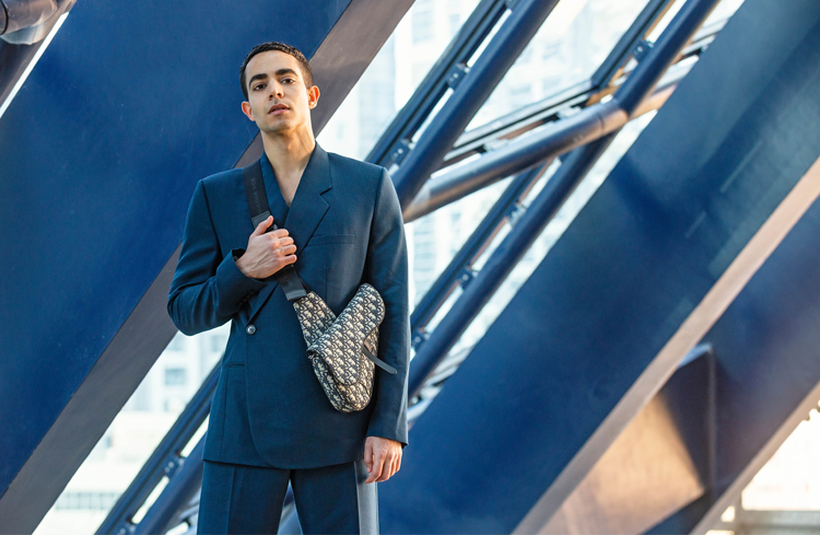 DIOR MEN SS19 fashion editorial opus building dubai
