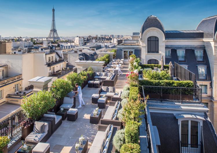 The Peninsula hotel paris