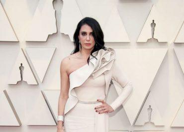 Nadine Labaki in Elie Saab at Oscars 2019