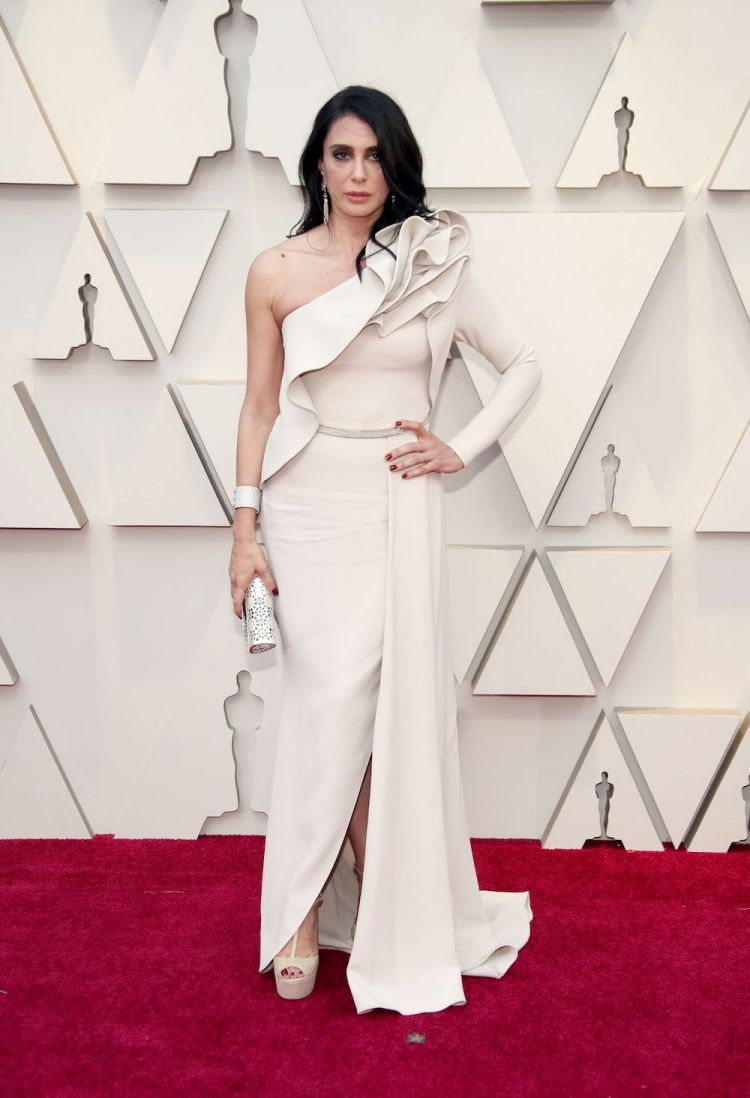 Nadine Labaki in Elie Saab at Oscars 2019