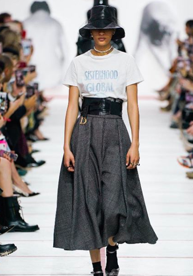 Dior Paris Fashion Week 2019 Sisterhood Global Slogan Tee