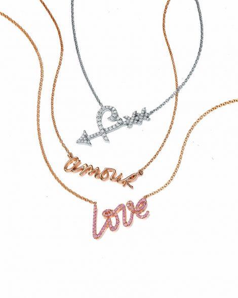 Tiffany & Co. Graffiti necklaces-