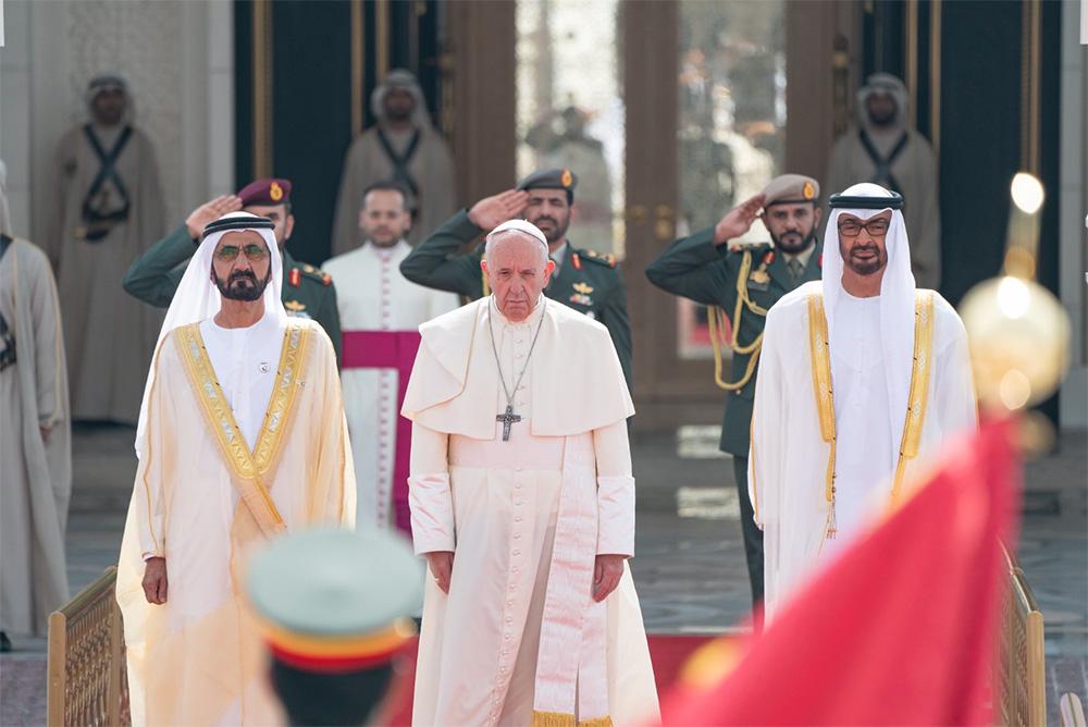 pope francis uae abu dhabi