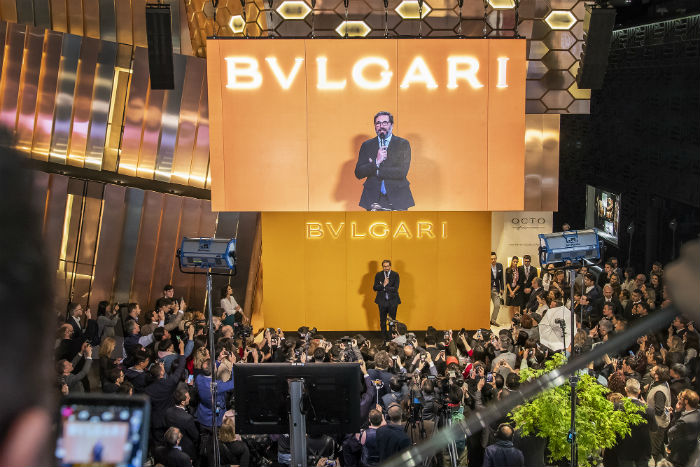 Bvlgari broke another world record at Baselworld 2019