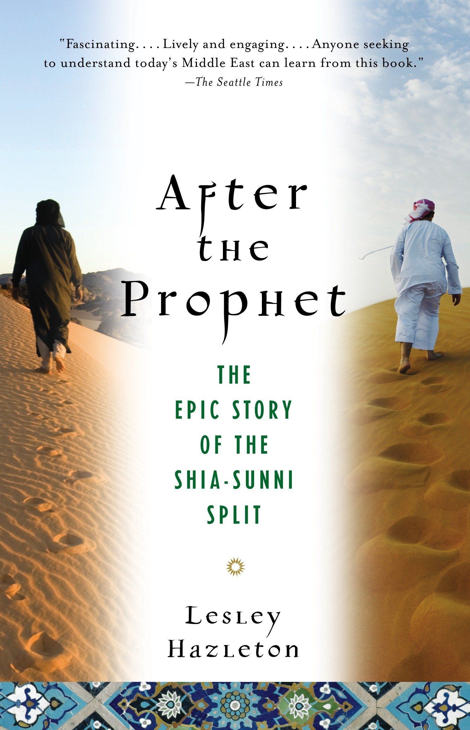 Noura Al Kaabi, the Minister of Culture and Knowledge Development, recommended After the Prophet by Lesley Hazleton