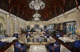 Afternoon tea at the The Ritz-Carlton Dubai