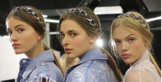 Balmain hair accessories chains fw19