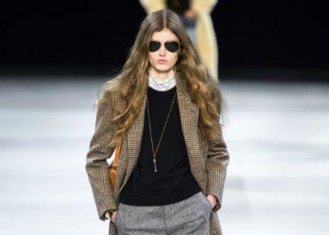 Celine runway AW19 paris fashion week ready to wear tweed and culottes