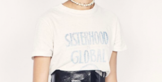 Dior sisterhood is global tee meaning robin morgan