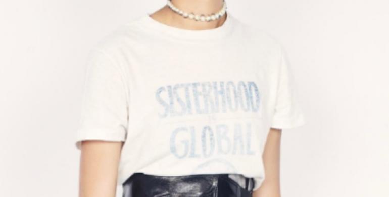 Dior sisterhood is global tee meaning robin morgan