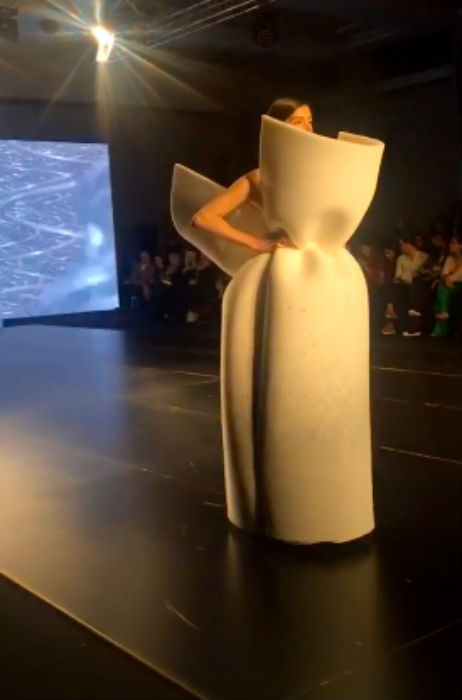 Fadi Zumot at Jordan fashion week 2019