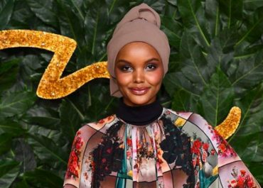 Model Halima Aden has teamed up with online fashion brand Modanisa to create a collection of 27 scarves