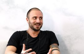 Pop Artist Luca Valentini joins A&E TV for Morning Coffee