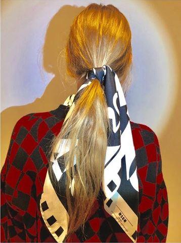 MSGM hair bandanda fw19
