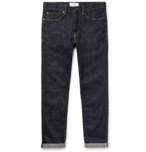 Slim-Fit Selvedge Denim Jeans mr p