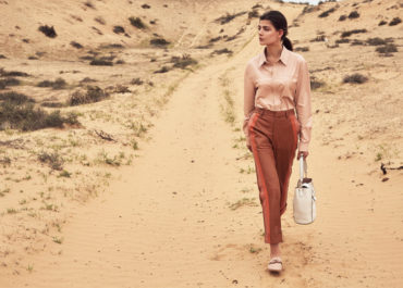 Tod's recent SS19 shoot with A&E magazine