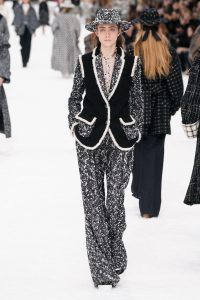 Chanel presented Karl Lagerfeld's last collection for Autumn/Winter 19