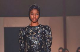 Dior presented it's Haute Couture show in Dubai with additional items for the Middle East