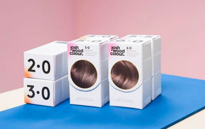 Josh Wood's e-commerce site focuses on specialised home colour kits