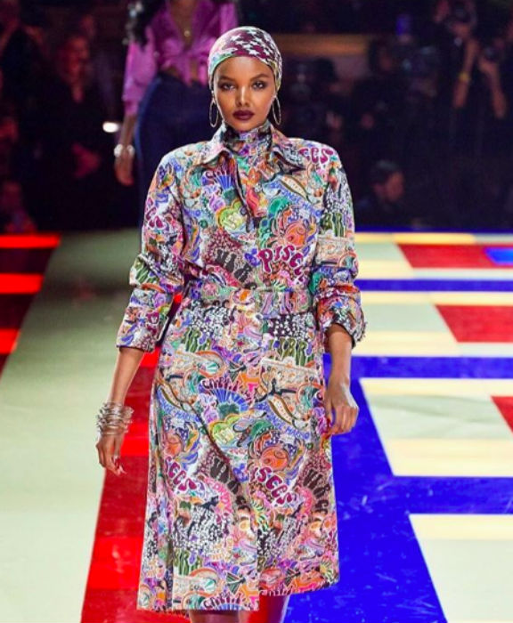 Halima Aden has walked the runways for Tommy Hilfiger