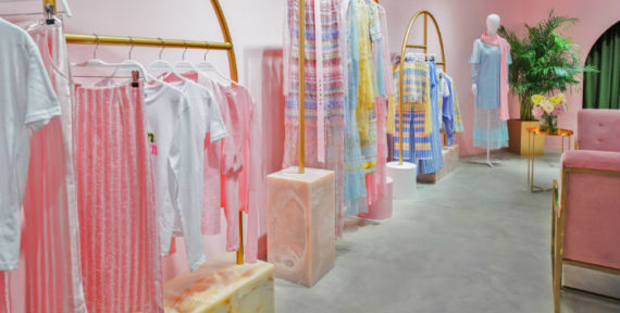 Madiyah Al Sharqi's pop-up boutique has now opened in Dubai Design District
