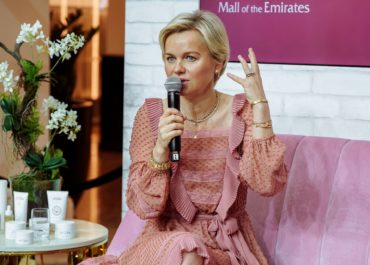 Dr Barbara Sturm recently shared her skincare secrets in Dubai's Mall of the Emirates