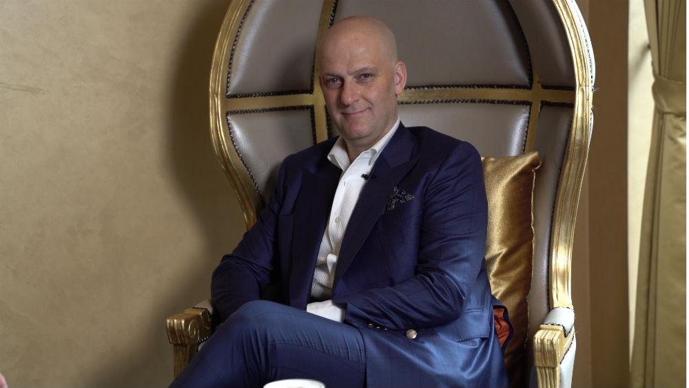 A&E TV chats to Giuseppe Santoni over Morning Coffee