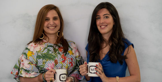 Nadine Tayara and Maria Abi Hanna chat their brand mission over Morning Coffee