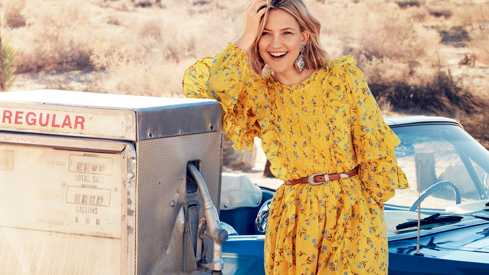 Kate Hudson launches her own, sustainable ready-to-wear fashion line, Happy x Nature