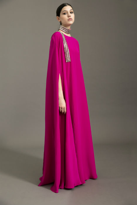 This is the most vivid kaftan in the Ramadan collection